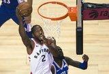 """Leonardo taškų rekordas užtikrino sėkmingą """"Raptors"""" startą serijoje"""