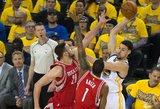 "Donatui Motiejūnui ir ""Houston Rockets"" komandai NBA sezonas baigėsi liūdnai"