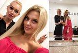 Justina Stambrauskaitė savo plaukus patikėjo Renatai Gaidan: neatsidžiaugia rezultatu