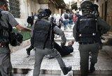 Jeruzalėje trečią dieną vyksta kova dėl šventyklos
