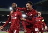 Anglijos futbole – lyderių kova, kurios sirgaliai laukia užgniaužę kvapą