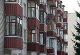 Konfliktas su žmona baigėsi šūviais pro balkoną