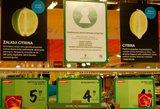 Sveikesni produktai parduotuvėse jau pastebimi lengviau