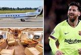 """Messi turi naują oro linijų """"žaisliuką"""" – šeimos nariams skyrė ypatingą vietą"""
