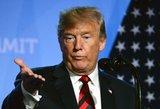 """D. Trumpas pareiškė, kas gali """"pražudyti"""" JK ir JAV prekybos susitarimą"""