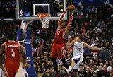 NBA apžvalga: D. Motiejūno pralaimėjimas, K. Irvingo šou ir suplyšęs M. Ginobilio batas