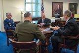 Pentagonas: JAV įsipareigojimai NATO yra nepajudinami