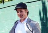 Aktorius Bradas Pittas grįžo į jaunystę: vėl atrodo, kaip prieš 20 metų