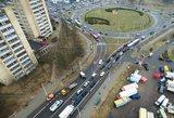 Vilniaus valdžia sugalvojo kaip sumažinti spūstis – įves naują mokestį