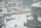 Iš sniego gniaužtų Vilnių vaduos 12 naujų sunkvežimių