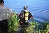 Nelaimė Vilniuje: po nesėkmingo bandymo perplaukti Nerį nuskendo žmogus