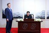 Šiaurės ir Pietų Korėja sieks galutinai užbaigti karą Korėjos pusasalyje