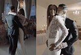 """""""Man-go"""" narės vestuvinis šokis pakerėjo svečius: gniaužia kvapą"""