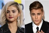 Gerbėjai suintriguoti: J. Bieberio negalinti pamiršti S. Gomez vėl nustebino