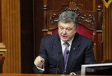 Porošenka: Rusija gali užimti ne tik Kijevą, bet ir bet kurį miestą, jei pasaulis nesusivienys