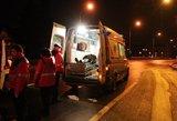Per šiurpią nelaimę rungtynėse Vilniuje jauna mergina išgyveno košmarą