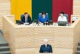 Prezidentė: 39 valstybinės įmonės į biudžetą nesumoka nė vieno euro dividendų