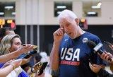 JAV rinktinės treneris prisibijo lietuvių varžovų grupėje: jie gali laimėti viską