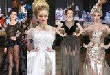Liutauro Salasevičiaus kolekcijos modeliai – koketiškos šalies damos
