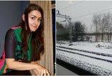 Traukinyje užmigusi studentė negalėjo patikėti: prabudusi išvydo kai ką neįtikėtino