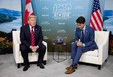 """JAV dėl G-7 fiasko apkaltino Kanadą: """"jis dūrė mums į nugarą"""""""
