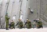 Karo atveju būtų mobilizuota daugiau karių, nei taikos sąlygomis