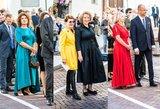 Iškilmingoje Nausėdos puotoje – išskirtinį stilių demonstruojantys svečiai