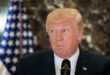 """Baltieji rūmai """"vis dar viliasi"""", kad Trumpo ir Kim Jong Uno susitikimas įvyks"""
