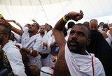 Prasidėjo ypatingas musulmonų ritualas: štai kaip šėtonas apmėtomas akmenimis