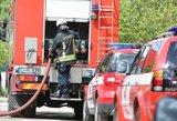 Sprogimas garaže pražudė žmogų