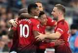 """""""Old Trafford"""" stadione – tituluočiausių Anglijos komandų dvikova"""