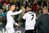 Ronaldo lietęs sirgalius užtraukė 10 tūkst. eurų baudą LFF