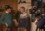 Aktoriai Kazlauskas ir Savickas – itin artimi: dalijasi moterimis?