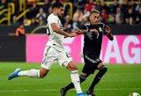 Vokietijos ir Argentinos dvikovoje krito keturi įvarčiai, bet nugalėtojas nepaaiškėjo