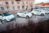 Kaune startuoja dalinimosi dviračiais ir automobiliais paslaugos