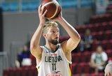 Lietuviai pasismagino ir prieš Angolos krepšininkus