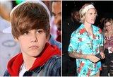 J. Bieberis nebeprimena gražuoliuko: viena jo išvaizdos detalė pašiurpinio gerbėjus