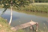 Akmenės rajone tvenkinyje nuskendo du vyrai