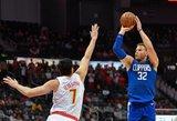 NBA: trigubas dublis, 40 taškų ir pergalingas tritaškis