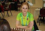 Antroji V. Čmilytės nesėkmė tarptautiname šachmatų festivalyje Gibraltare