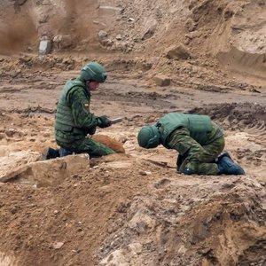 Sujudimas sostinėje – rado didelę bombą, siunčiami karo išminuotojai