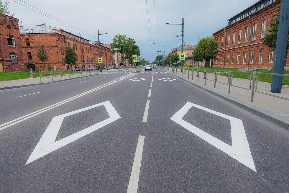 Naujas ženklinimas Kaune (nuotr. Organizatorių)