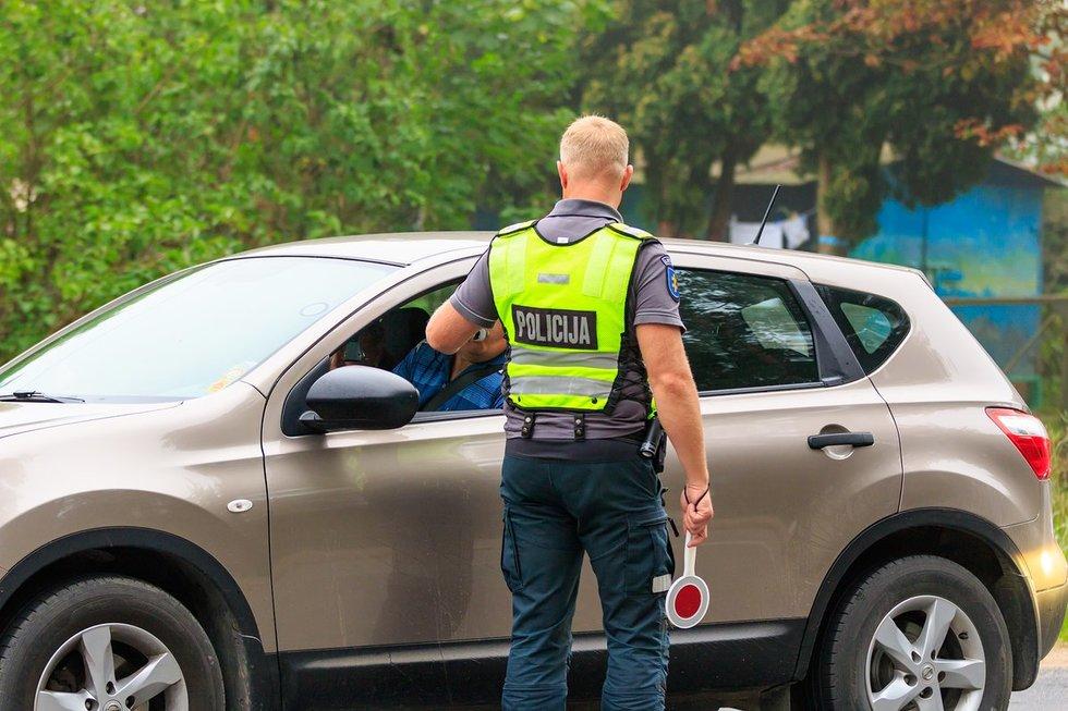 Vilniaus rajone rytą įkliuvo keturi girti vairuotojai (nuotr. Broniaus Jablonsko)