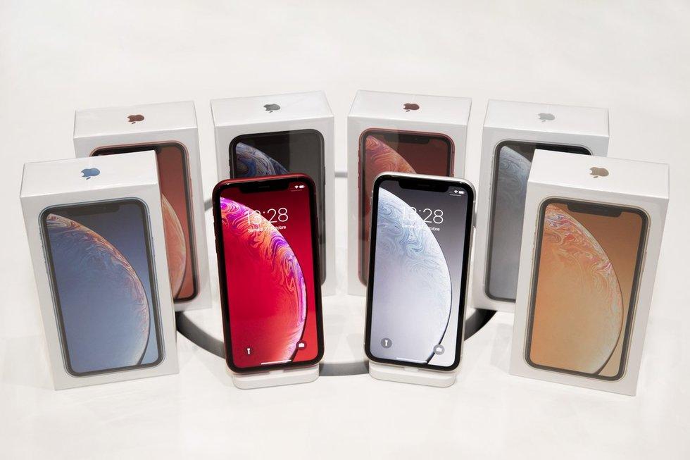 """""""Apple"""" pripažino: naujieji telefonai turi tik taisyklose išsprendžiamą gedimą (nuotr. SCANPIX)"""