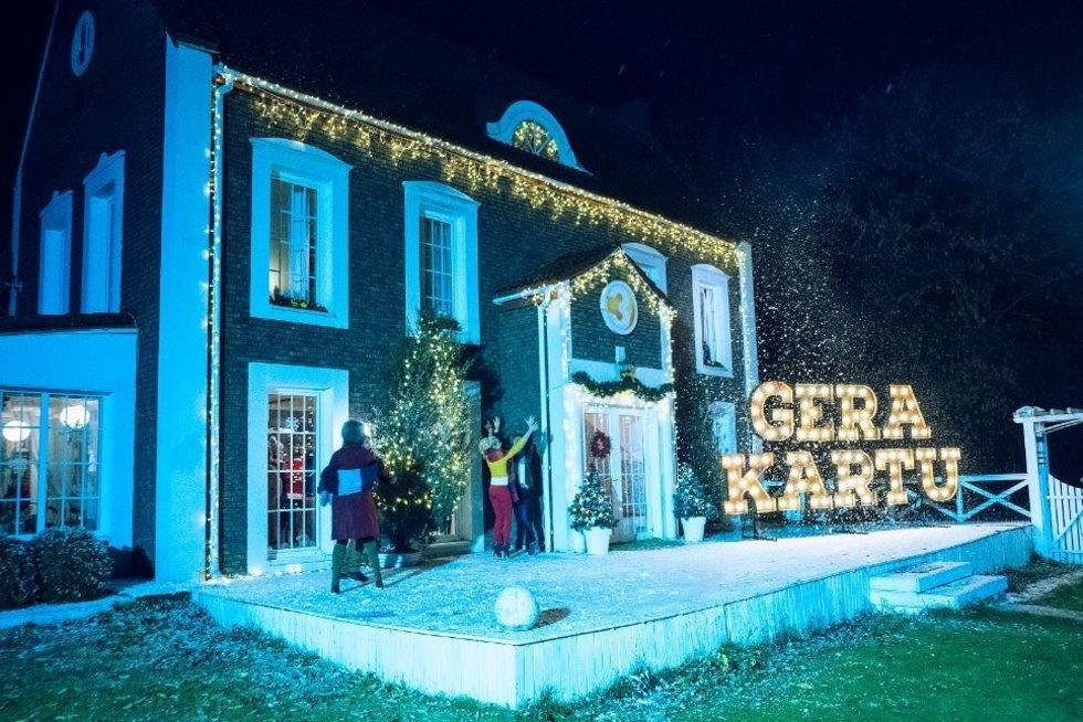 TV3 kalėdinio klipo filmavimas (nuotr. Algio Krisčiūno)