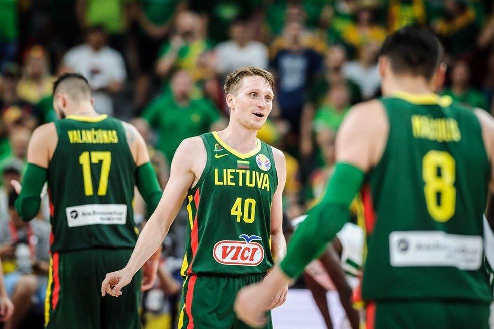 Lietuvos vyrų krepšinio rinktinė (nuotr. FIBA)