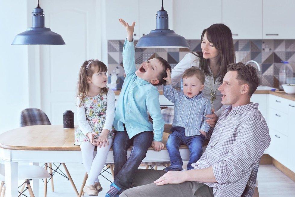 Šeimos kortelė (nuotr. Lina Adi)