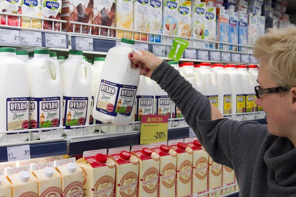 Pienas (nuotr. BFL)