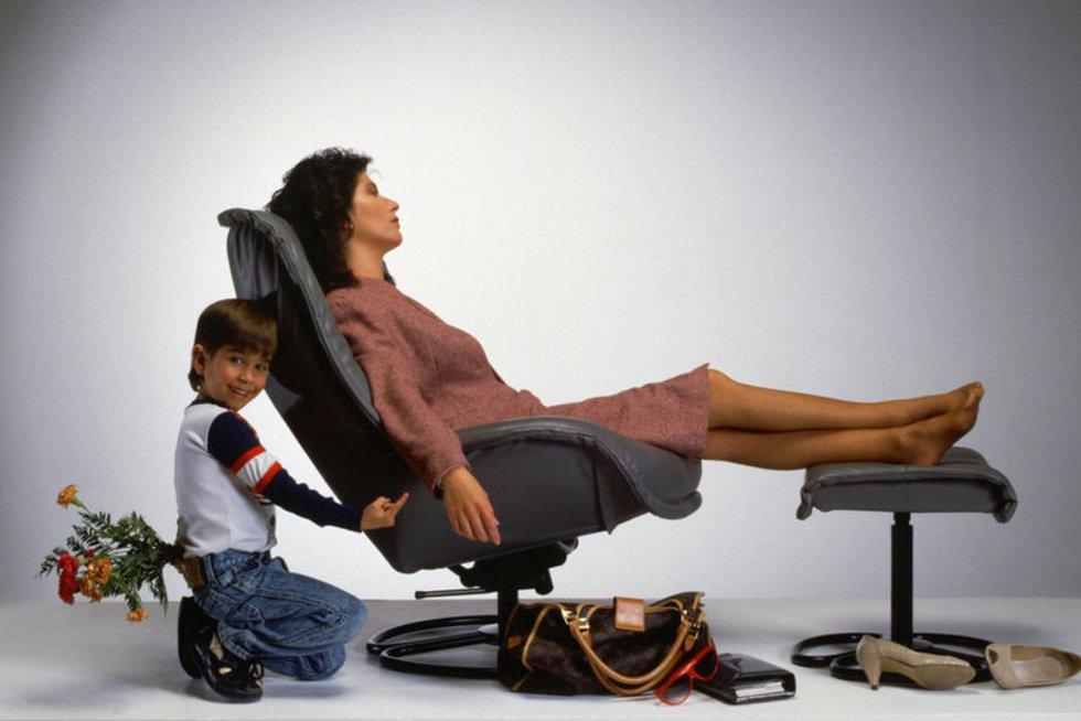Mama su vaiku (nuotr. shutterstock.com)