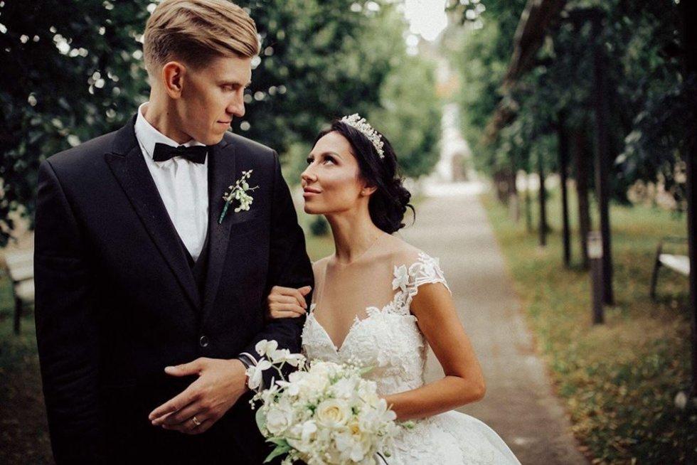 Gabrielė Rutkauskienė-Vasha su vyru Ronaldu (nuotr. asm. archyvo)